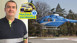Lékař pražské letecké záchranky David (47): Zažil nehodu vrtulníku, setkal se i s úžasnou solidaritou