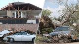 Michaelovi tornádo ve vteřině zničilo dům: Najednou jsem neměl střechu nad hlavou