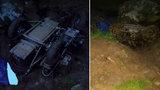 Muž (†58) se v lese na Kaplicku vyboural na motorce z druhé světové války. Zavalila ho a zemřel
