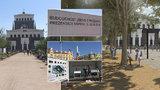 Popraskané chodníky, prořídlá zeleň: Kontejner na »Jiřáku« představuje varianty revitalizace