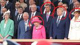 Babiš slavil Den D, dostal místo hned za královnou. A promluvil si s Trumpem
