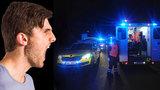 Opilý mladík (17) přejel na chodníku tři lidi: Druhý  zdivočel a vyhrožoval dívce smrtí