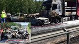 Na dálnici vypuklo po hromadné havárii ohnivé peklo: Vyžádalo si 6 mrtvých a 11 zraněných!