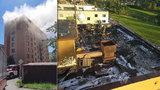 Desítky lidí z České Třebové skončily bez domova: Po požáru paneláku uspořádalo město veřejnou sbírku