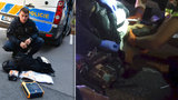 Policista Pavel popsal zásah u hrůzné nehody motorkáře. Jak mohou strážci zákona raněným pomáhat?