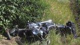 Jízdu v protisměru motorkář nepřežil: Další zahynul  po strážce na D1