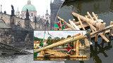 Ledolamy Karlova mostu se vymění. Vyhledávanou památku ochrání evropské duby z Moravy