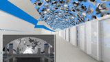 Nanočástice nebo 3D postavičky: Takhle budou vypadat stanice metra D Pankrác a Olbrachtova