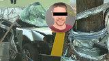 Michal (†30) zemřel při autonehodě na Teplicku: Zabil ho drtivý náraz do stromu