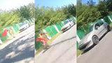 Řidič vjel autem na trasu hořického závodu motorek: Šokovaný závodník byl 10 centimetrů od smrti!