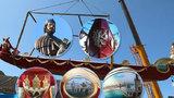 Praha má svoji válečnou gondolu: Jako jediné hlavní město ji vyslalo do Benátek na slavnosti