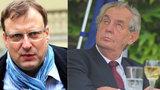 Zeman umírá na rakovinu, tvrdil politik. Smír u soudu odmítl, prezident chce 5 milionů