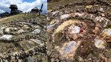 Na Sněžce řádili vandalové! Kamenným obrazcem poškodili vzácný ekosystém