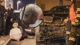 Silně opilý muž v Pardubicích naboural několik aut a zranil dítě: Mám známosti na vyšších místech, hrozil