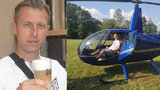 Krásný dárek pro ochrnutého záchranáře Zdeňka: Vrtulník ho vynesl do nebes