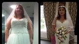 'Za půl roku přes 60 kilo dole! Nechtěla jsem být obézní nevěsta, říká Alex'