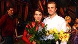 Langerová o finále: Lapala jsem po dechu, tanečník měl utržené vazy