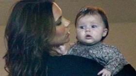 Stylové miminko: Z půlroční Harper Beckham je módní ikona!