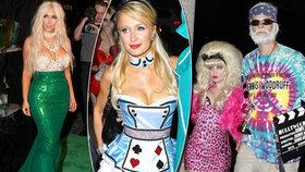 Příšerné Halloweenské kostýmy celebrit! To je vtip?