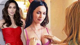Megan Fox: Prsa v hlavní roli! Sáhla si i kamarádka