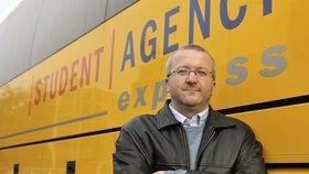 Šéf Student Agency chce ovládnout taxikáře v Praze!