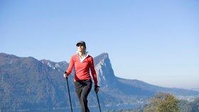 Nordic walking: Chůzí ke zdraví! Zkuste to také!