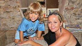 Basiková se chlubí synem jen jednou za rok: Z Thea (3) je dlouhovlasý andílek!