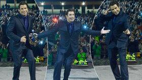 Hollywoodská hvězda uvedla Pomádu: Takhle paří Travolta!