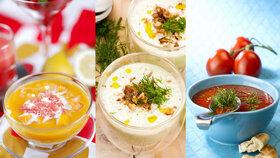 Osvěžující studené polévky. Máme je rádi na sladko i na slano