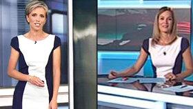 Moderátorky Zárybnická a Doležalová ve stejném oblečení: Trapas v živém vysílání!