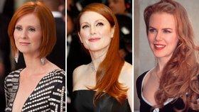 Sexy zrzky: Podívejte se na nejsvůdnější ženy s rudou hřívou!