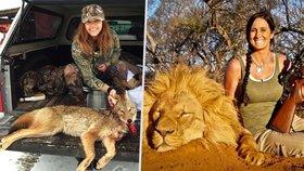 I Česko má svou Melissu: Sexy Michaela (26) se fotí vedle mrtvol zvířat, která zastřelila!