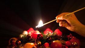 Velký adventní kalendář na každý den: 1.12. - Zapalte první svíčku