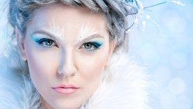 Zimní královna: Buďte IN s trendy ledovým líčením