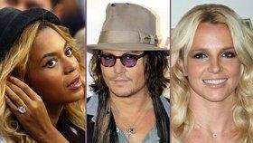 První sex celebrit: Johnny Depp ve 13, Lisa Kudrow ve 32!