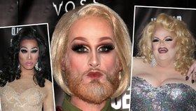 Přehlídka šílených transvestitů! Jak se vám líbí?
