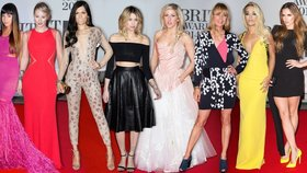 To nej z Brit Awards: Šokující Jessie J, zářící Rita Ora. Kdo další na sebe upozornil?