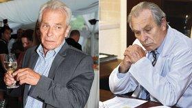 Herec Alois Švehlík (74) musí znovu do autoškoly! Dostal 12 bodů a nevrátili mu řidičák