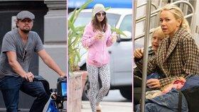 Celebrity jako obyčejní lidé: Chodí v teplákách a jezdí metrem!