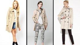 Trenčkot 7x jinak: Se sukní i roztrhanými džíny