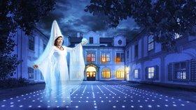 Zámek Loučeň: Historické interiéry v tajemné prohlídce s Bílou paní?