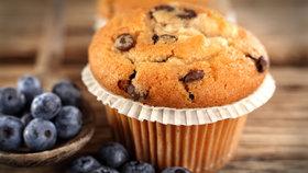 Sladké potěšení: Lahodné borůvkové muffiny