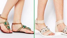 Orient je trendy: Pořiďte si sandálky jako Šehrezáda!