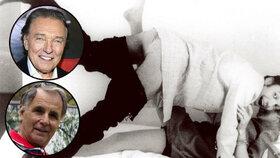 Unikátní foto, jak jste Slavíka neviděli: Gott s kalhotami dole v posteli s fanynkou