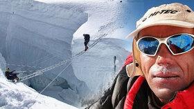 Cesta na vrchol v obrazech: Radek Jaroš zdolal Himaláje