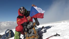 Horolezec Radek Jaroš zdolal jako první Čech horu K2: Nahoře mi bylo teplo!