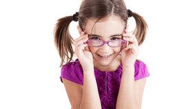 Odhalte včas, co trápí dětské oči