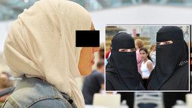 Zakážou u nás nikáby a zahalené tváře? Vláda: Čeští muslimové to nepoužívají, jen turisté