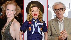 Podivné fóbie celebrit: Děsí je motýli, klauni i blesky