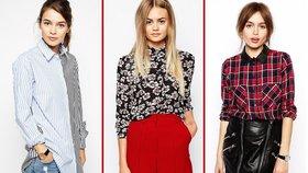 Košilový podzim: Tyhle super kousky musíte mít!